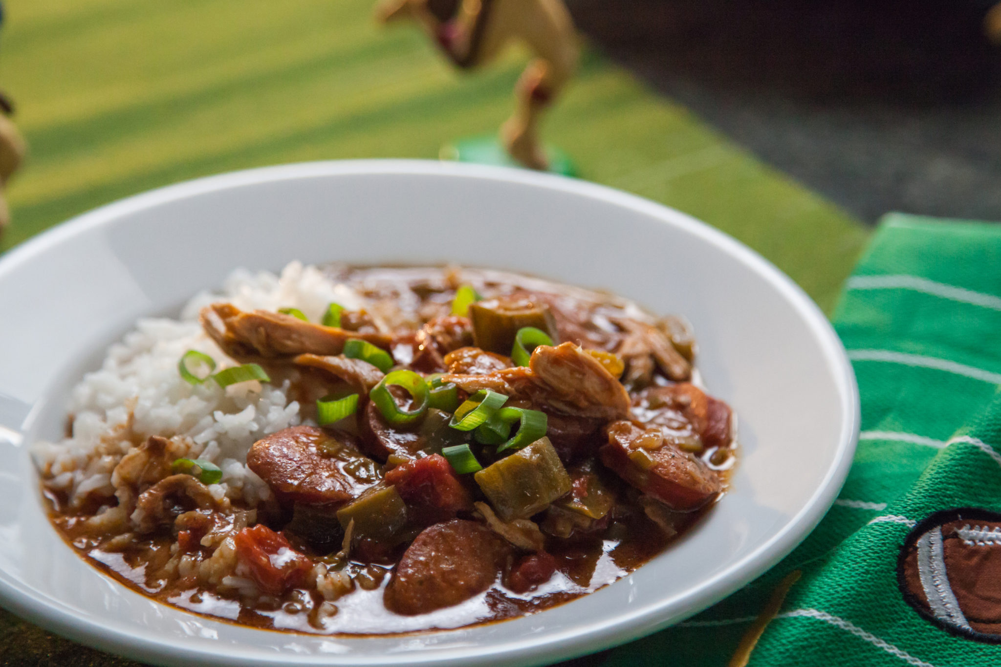 Pat and Stacy's Gumbo