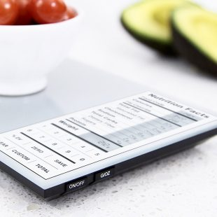 Digital Kitchen Scale with Nutritional Data  Thunder Labs