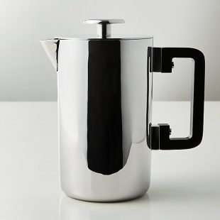 Drip Stainless Steel French Press  CB2