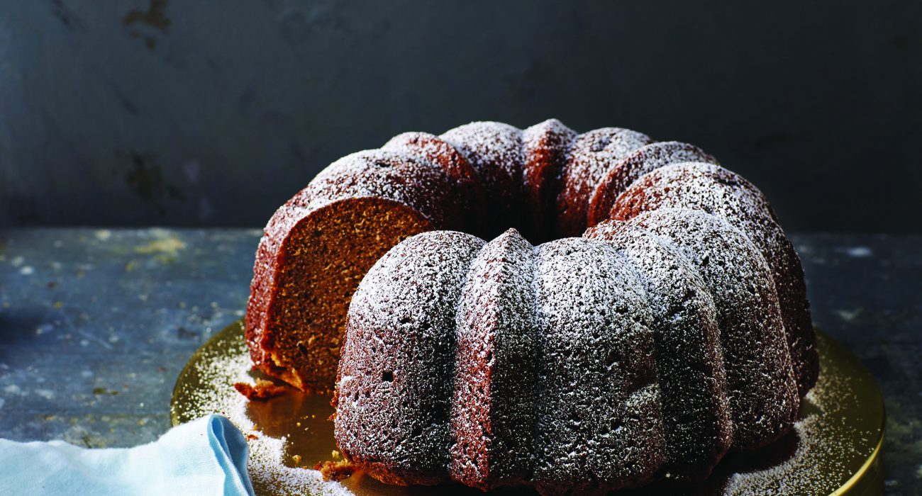 Holiday Applesauce Cake Alison Miksch Photographer Lindsey Lower Prop Stylist Chelsea ZImmer Food Stylist