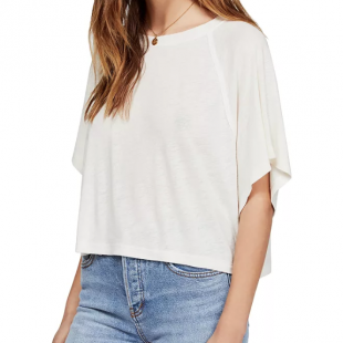 Free People Weekend Cropped Tee, Bloomingdales