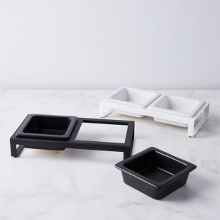 Modern Pet Bowl Stand, Food52