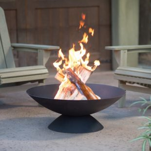 Coral Coast Basin 30 in. Cast Iron Fire Pit  Hayneedle